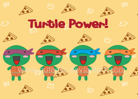 Turtle Power by CuteGio