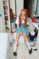 Messy cosplayer room. by M00-chan