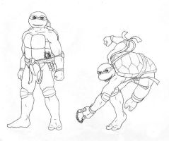 TMNT: Michelangelo CS by dymira128