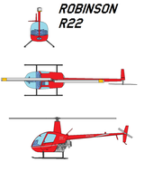 Robinson R22 by bagera3005