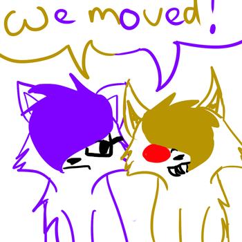 Moved! by XMeowMewX