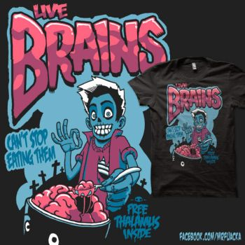 Live Brains by Fuacka