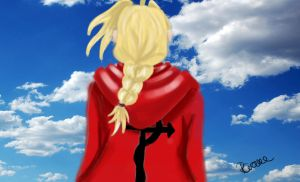 Edward Elric by BeckyCrowe