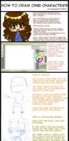 How 2 draw chibis tutorial by DyMaraway