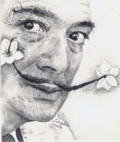 Salvador Dali by raining-ducks