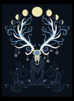Moon Elk by ORUPSIA