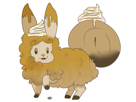 Caramel Macchiato Flufferbun by pinksheepyunnie