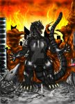 The-Great-MM's Godzilla by RenDragonClaw
