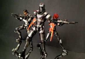 Play Arts Kai - Mass Effect - N7 Soldier by 0PT1C5