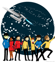 Star Trek - Go Boldly by EndofaCentury