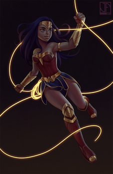 Wonder Woman by joifish