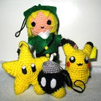 My amigurumi family 2 by Eriamyv