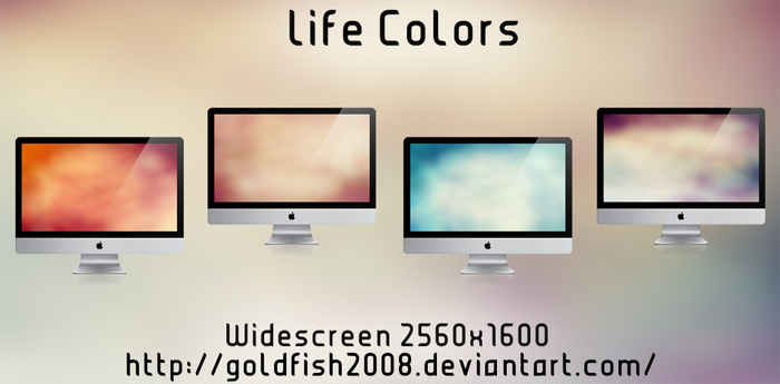 Life Colors Wallpaper by goldfish2008