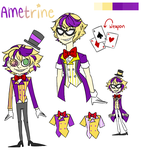 [Gem OC]: Amterine by TheShatteredParadox