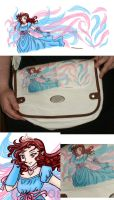 Aki Magic Wings Bag Design by AkiAmeko