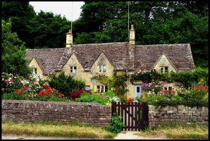 Cotswold Cottage by parallel-pam