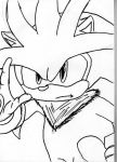 Silver the Hedgehog by ajg1998