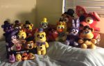 FNAF: The Whole Plush Gang by Negaduck9