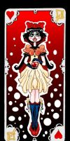 Snow white card by MangiE-31