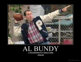 Al Bundy: 4 Touchdowns by IappearToBeSpy