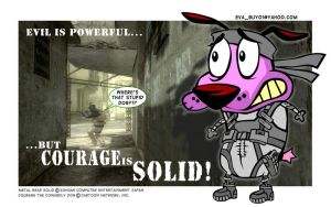 COURAGE the SOLID DOG by eva-guy01