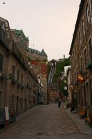 Vieux Quebec by deadrose333