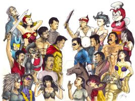 War of the Philippine Heroes by tataselo