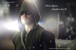 Oliver in the lights by MrsCromwell