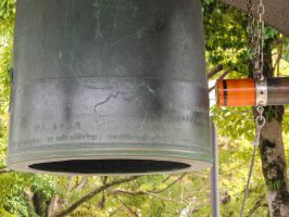 Peace Bell Close Up by thecomingwinter