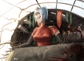 Are you saying cooperating with Federation fleet!? by Waffle0708