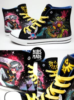 Majora's Mask Shoes by Bobsmade