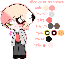 ~Nico Color Reference by Nini-the-kitty