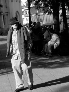 Old Man Black and White by juvieira