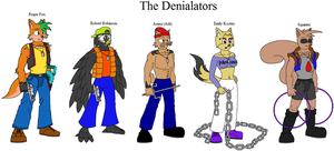 Sly Cooper- The Denialators by Emikodo