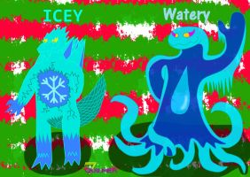 Icey y Watery 2014 remake by Quilmer
