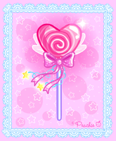 Valentines Fairy Lollipop by Princess-Peachie