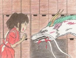 Spirited Away by obakehoshi