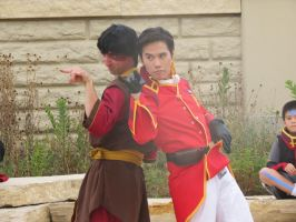 Prince Zuko and General Iroh by scoldingspirit84