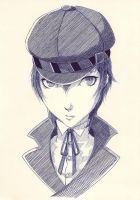 Shirogane Naoto by 1c4r0s