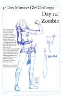 30 Day Challenge - Zombie by Bostonology