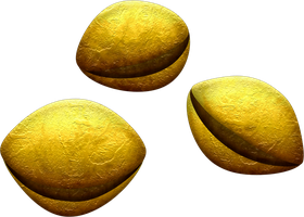OOT Deku Seeds by BLUEamnesiac