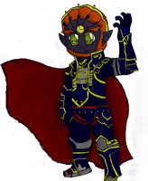 Ganondorf by applejackles