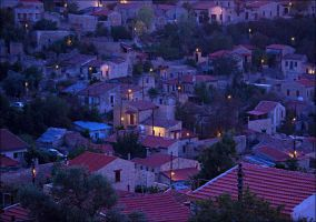 night in Lofou by photoport