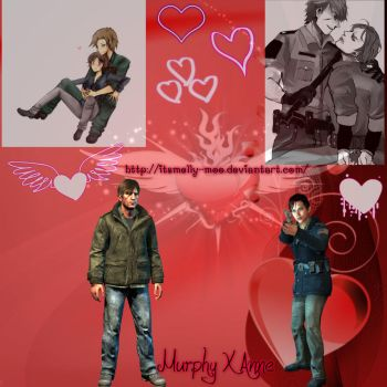 Murphy X Anne Wallpaper by ItsMelly-Moo