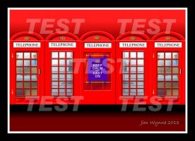 Phone Booth Test by PixelBlender
