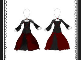 Gothic Dress Contest by Aoi-chan01