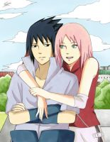 SasuSaku: Under The Same Sky by Ellinot