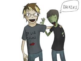I Love Zombies by EaterofOrphans
