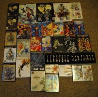 Kingdom Hearts - Collection (So Far) Updated by Lexaus2