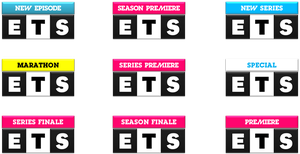 ETS Logo Variations by ETSChannel